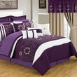 Lavish Home Room-In-A-Bag Amanda Polyester 24 Piece Bedroom Set, Queen