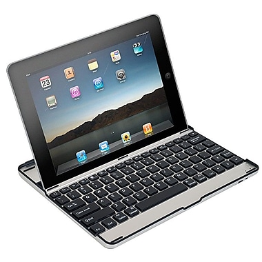 Northwest™ 72-22MA Aluminum Alloy Bluetooth Keyboard Case For iPad 2/3/4, Silver