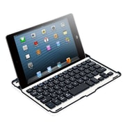 Northwest™ 72-60PDM Aluminum Alloy Bluetooth Keyboard Case For iPad Mini, Silver