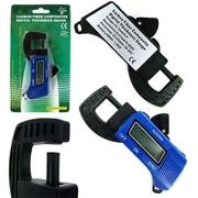 Stalwart™ 75-15005 Digital Thickness Gauge Micrometer Caliper, 0 - 12mm, Blue