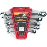 Stalwart™ 5 Piece Metric Ratchet Combination Wrench Set