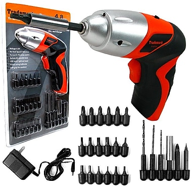 Stalwart™ 75-60100 25 Piece Cordless Screwdriver With LED Light