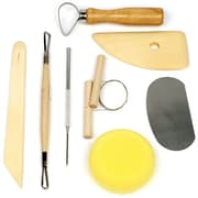 Stalwart™ 8 Piece Pottery and Clay Modelling Tool Sculpting Set