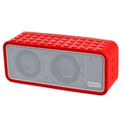 Sunbeam® 72-SB1575 Rechargeable Bluetooth Conference Speaker With Built In Microphone, Red