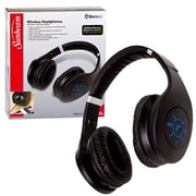 Sunbeam® 72-SB2425 Bluetooth Foldable Stereo Headphone, Black