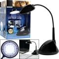 Trademark Global™ 4 W Dual Power USB 36 LED Desk Lamp, Black