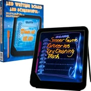 "Trademark Home 72-GT125 8.75"" x 7.88"" ""LED writing Message"" Board"