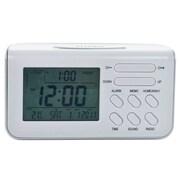 Trademark Home™ 72-TM001 Talking Travel Digital Alarm Clock
