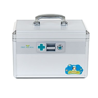 Trademark Home™ Aluminum Medical Travel First Aid Case