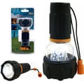 Whetstone™ 3 LED Flashlight/Lantern Combo, Black