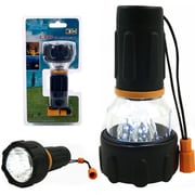 Whetstone™ 3 LED Flashlight/Lantern Combo, Black
