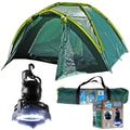 Whetstone™ Three Person Tent Plus 2 In 1 Light and Fan