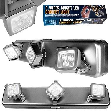 Trademark Home™ 3 Light Heads 9 Bright LEDs Under Cabinet Light Fixture