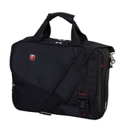 "Swiss Gear 15.6"" Double Gusset Laptop Case, Black"