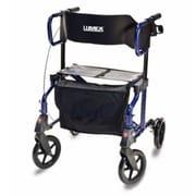 Lumex Hybrid Rollator Transport Chair; Majestic Blue