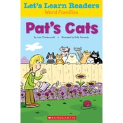 Scholastic Let's Learn Readers Pat's Cats Book, Early Learning