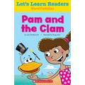 Scholastic Let's Learn Readers Pam and The Clam Book, Early Learning