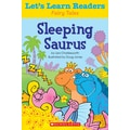 Scholastic Let's Learn Readers Sleeping Saurus Book, Early Learning