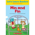Scholastic Let's Learn Readers Min and Fin Book, Early Learning