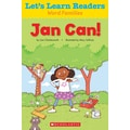 Scholastic Let's Learn Readers Jan Can Book, Early Learning