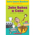 Scholastic Let's Learn Readers Jake Makes a Cake Book, Early Learning