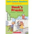 Scholastic Let's Learn Readers Hank's Pranks Book, Early Learning