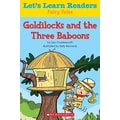 Scholastic Let's Learn Readers Goldilocks and The Three Baboons Book, Early Learning