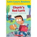 Scholastic Let's Learn Readers Chuck's Bad Luck Book, Early Learning