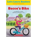 Scholastic Let's Learn Readers Becca's Bike Book, Early Learning