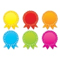 Scholastic 5 1/2in. x 6in. Award Ribbons Accents, Grade Pre K - 5th