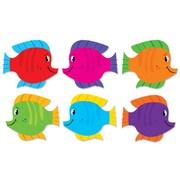 Scholastic 5 1/2 x 6 Fish Accents, Grade Pre K - 5th