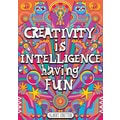 Scholastic Inspirational POP Chart, Creativity is Intelligence Having Fun