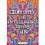 Scholastic Inspirational POP Chart, Creativity is Intelligence