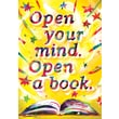 Scholastic Inspirational POP Chart, Open Your Mind Open a Book