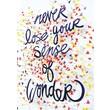 "Scholastic NTS565382 ""Never Lose your Sense of Wonder"" Inspirational POP Chart"