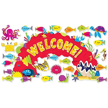 Scholastic Pre K - 5th Grade Bulletin Board, Ocean Welcome
