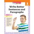 Scholastic Study Smart Write Better Sentences and Paragraphs Book, Grade 5