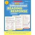 Scholastic The Big Book of Differentiated Reading Response Activity Book, Grade 2 - 3