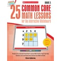 Scholastic 25 Common Core Math Lessons Book For The Interactive Whiteboard, Grade 3