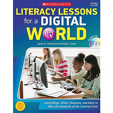 Scholastic Literacy Lessons For a Digital World Book, Grades 5 - 12