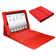 Mgear Bluetooth Wireless Keyboard Folio For iPad, Red