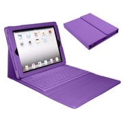 Mgear Bluetooth Wireless Keyboard Folio For iPad (Air), Purple