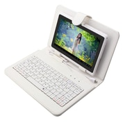 "Mgear Micro USB Keyboard Folio For 9"" Tablet, White"