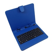 "Mgear Micro USB Keyboard Folio For 10"" Tablet, Blue"