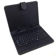 Mgear Micro USB Keyboard Folio For 8 Tablet, Black