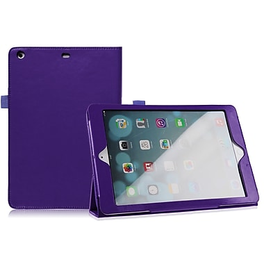 Mgear Accessories 93585511M Tri Fold Folio Case for Apple iPad Air Tablet, Purple