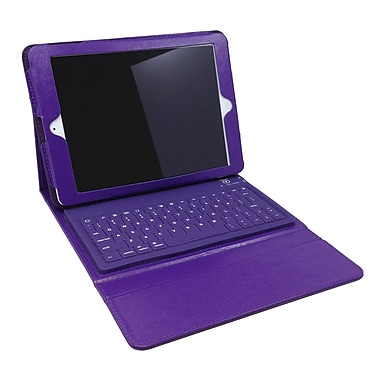 Mgear Bluetooth Keyboard Folio For iPad Air, Purple