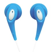 Naxa JELLEEZE NE-925-BL Hi-Fi Super Bass Digital Stereo Earphone, Blue