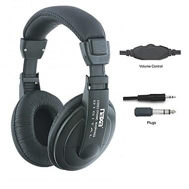 Naxa Super Bass NE-916 Professional Digital Stereo Headphone, Black