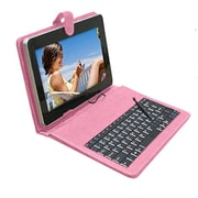 "Mgear Micro USB Keyboard Folio For 9"" Tablet, Pink"